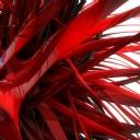 3D Kırmızı Desenler