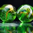 3D Yeşil Küre 2