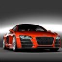 Audi R8 Kırmızı
