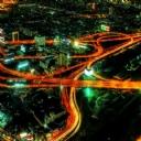 Bangkok gece Manzara