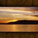 Baykal Gölü Gün Batımı