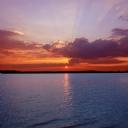 Deniz ve Güneş Manzarası