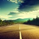 Doğa İçinde yol