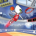 FIBA 2010 Logo - Saha