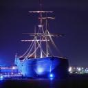 Gece Yelkenli Gemi
