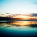 Gün Batımı Deniz Manzarası