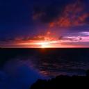 Karanlık Güneş Batımı