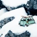 Karlı Araba