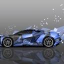 Mavi Araba 5