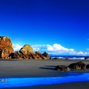 Mavi Deniz Manzara