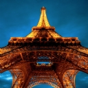 Paris  Eiffel Kulesi