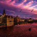 Prag Vltava Nehri
