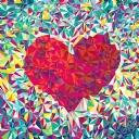 Renkli Kalp 1