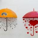 Renkli Şemsiyeler 1