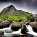 Şelale ve Dağ