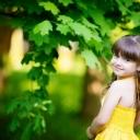 Sevimli Kız Çocuk