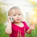Telefonla Konuşan Bebek