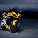 Yamaha Sarı Motor