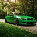 Yeşil BMW