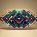 3D Üçgen Tasarım