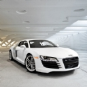 Audi R8 Beyaz