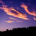 Bulutlar Gün Batımı