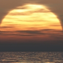 Büyük Güneşin batışı