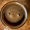 Coffee Smiling