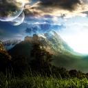 Dağ Manzarası Tasarım