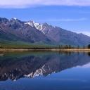 Göl ve Dağ Manzarası