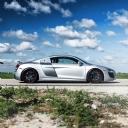 Gorgeou Grey Audi R8