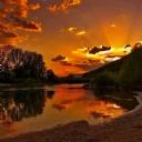 Günbatımı Kızıl