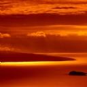 Güneş batışı