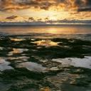Güneş ve Deniz Manzarası