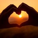 Heart_love_Sunset