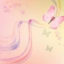 Kelebek Desenli duvar Kağıdı