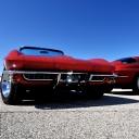 Kırmızı Chevrolet