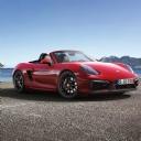 Kırmızı Porsche