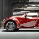 Kırmızı Spor Araba