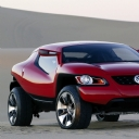 Kırmızı Volkswagen