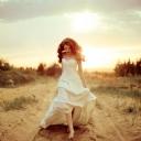 Kumsalda Kız
