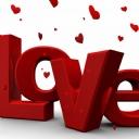 Love Kırmızı Kalp