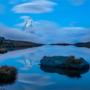 Mavi Göl Manzara 4