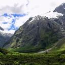 Müthiş Dağ Manzarası