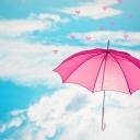 Pembe Şemsiye