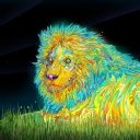 Renkli Aslan