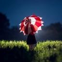 Şemsiyeli Kız 1