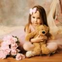 Sevimli Ayıcık Kız Çocuk
