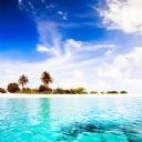 Turkuaz Mavi Deniz