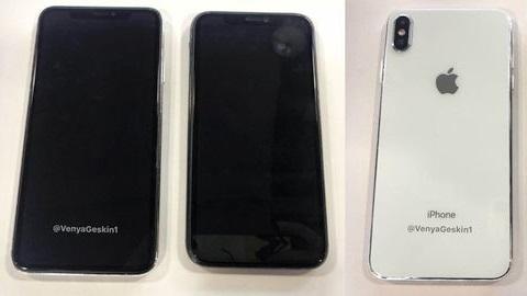 iPhone X Plus ve ucuz iPhone'nin maket görüntüleri sızdı